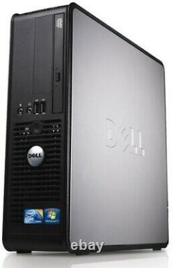 Fast Dell Quad Core Pc Computer Desktop Windows 10 Wi-fi 8gb Ram 500gb Hdmi Gpu