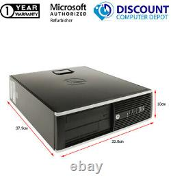 Fast HP 6005 AMD Desktop Computer 3.00GHz 4GB RAM 80GB HD Windows 10 Home PC DVD