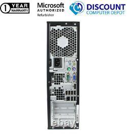 Fast HP 6005 AMD Desktop Computer 3.0GHz 4GB RAM 250GB HD Windows 10 Home PC DVD