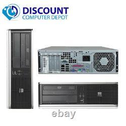 Fast HP Desktop Computer Core 2 Duo 2.13GHz 4GB RAM 250GB HD WIFI Windows 10 PC