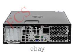 Fast HP Quad Core Pc Computer Desktop Tower Windows 7 Wi-fi 8gb Ram 500 GB Hdd