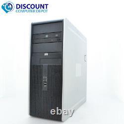 Fast HP Tower Desktop Computer 2.0GHz Dual Core 4GB RAM 80GB HD Windows 10 Home