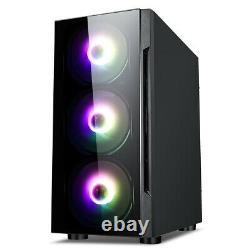 Fast Intel Core i3 Gaming PC+Monitor Bundle 4GB RAM 500GB HDD W10 Computer