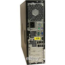 Fast Windows 10 PRO Computer HP Dual Core Huge 6GB RAM SFF WiFi Cheap Desktop PC