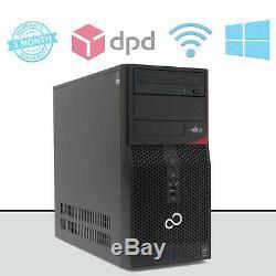 Fujitsu ESPRIMO P420 E85+ Quad Core i5 4570 Computer Desktop PC 8GB Ram 1TB HDD