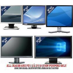 Full Dell Desktop Computer & LCD Intel Core i3 i5 i7 Windows 10 16GB RAM 2TB/SSD