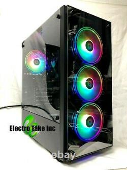 GAMING PC COMPUTER DESKTOP Intel CORE i7-3.40GHz 16 GB ram RX 570 3 TB HDD
