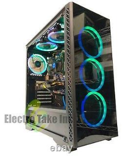 GAMING PC COMPUTER DESKTOP Intel Core i7-3770 Nvidia 1650 RAM 16GB 3TB Win 10