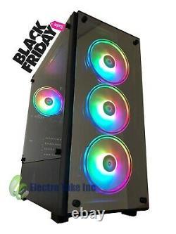 GAMING PC COMPUTER DESKTOP Intel Core i7 480 SSD AMD RX 58016 GB RAM Win 10