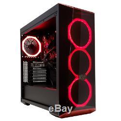 GAMING PC DESKTOP COMPUTER INTEL CORE i5 RADEON RX 570 4GB 8GB RAM SSD WIN 10