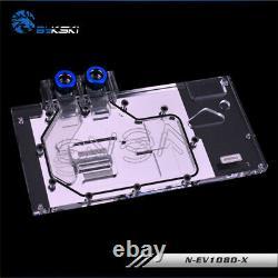 GPU Water Block Full-Cover Computer RGB Block for EVGA GTX 1080 1070 8G FTW