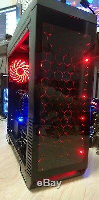 Gaming Computer Intel I7-8700K 6 Core 4.7Ghz Liquid Cool 8gb Ram 240GB SSD