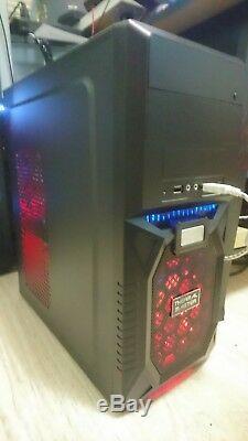 Gaming Computer Intel I7-8700K 8th Gen 6 Core 4.7Ghz 8gb Ram 240GB SSD