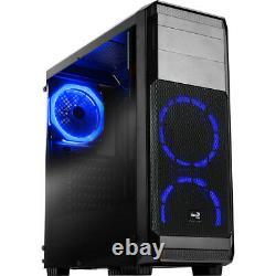 Gaming Computer Tower Desktop PC Intel Core i3 4GB RAM 500GB HDD 2GB GT710 Win10