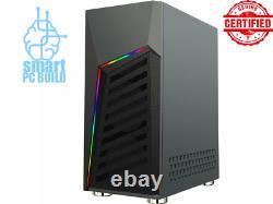 Gaming PC Desktop Computer RGB Intel i7 GTX 1650 16GB RAM 1TB HDD, 240GB SSD