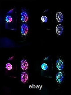 Gaming PC Desktop Computer RGB Intel i7, RTX 2060, 16GB RAM, 240GB SSD, 2TB HDD
