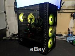 Gaming PC Desktop Computer RGB i9 9900K RTX 2080 32GB RAM 512GB NVME SSD