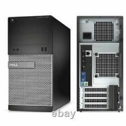 Gaming PC Desktop Computer i7 16GB RAM HD6870 256GB SSD +1TB Win10 WIFI +KB