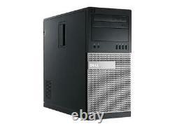 Gaming PC Desktop Computer i7 8GB RAM 120GB SSD +1TB Win10 +22 Monitor WIFI +KB
