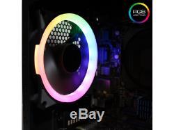 Gaming PC Desktop Computer i7 GTX 1060 8GB RAM 1TB RGB WiFi Win 10