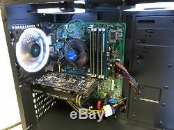 Gaming RGB Desktop PC Computer Intel i7-2600GeForce GTX 106016GB RAM2TBWiFi