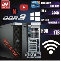 Genuine Dell T3610 Pc Computer 1tb Hdd 16gb Ram Xeon Quad Workstation Offer
