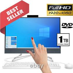 HP 22inch Full-HD TOUCH Display AMD 3.50GHz 1TB HDD 8GB Ram All-in-One Computer