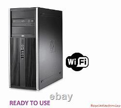 HP 6200 Pro Intel i5 Quad Core 16GB RAM 2TB Windows 10 PC Desktop Tower Computer