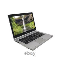 HP 8460p 14 Laptop Computer PC Core i5 8GB Ram 320GB HD DVD WiFi Cam Windows 10