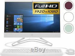 HP All-in-One Computer 22 Full-HD LED Intel 2.90GHz 4GB Ram 1TB HD Windows 10
