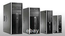 HP COMPAQ SFF DESKTOP TOWER Wi-Fi PC COMPUTER 8GB RAM 500GB HDD WINDOWS 10