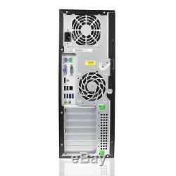 HP Compaq 8200 Tower Desktop Computer PC Core i7 2600 16GB RAM 240GB SSD 2TB HDD