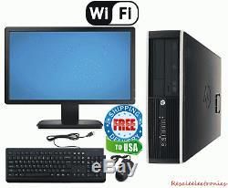 HP Desktop Computer 22 Monitor Intel Quad Core i5 8GB RAM 1TB HD Windows 10 PC