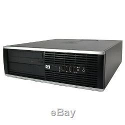 HP Desktop Computer 8GB RAM 500GB HD Intel i5 Windows 10 PC Dual 22 LCD Monitor