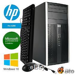 HP Desktop Computer Intel i5 Quad Core 16GB RAM 512GB SSD Windows 10 Pro PC
