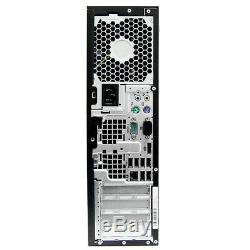 HP Desktop Computer Windows 10 PC 20 LCD Keyboard Mouse Speaker 4GB RAM Fast HD