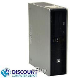 HP Desktop PC Computer Dual Core 4GB RAM 160GB HD Windows 10 Premium USB Wifi