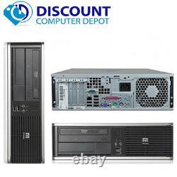 HP Desktop PC Computer Windows 10 Core 2 Duo 19 LCD Monitor 8GB Ram 1TB HD WiFi