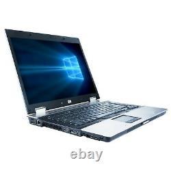 HP EliteBook 8530w 15.4 Laptop Computer C2D 4GB RAM 320GB DVD Windows 10 Home