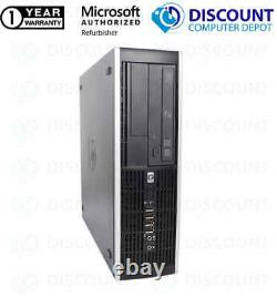 HP Elite 6005 Desktop Computer AMD 3GHz 4GB RAM 128GB SSD Windows 10 PC 17 LCD