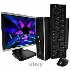 HP Elite 8100 Desktop Computer Package Intel Core i5 3.2-GHz, 8GB RAM, 500GB H