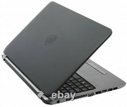 HP ProBook 450 G3 15 Laptop Computer i3 6th Gen 4GB RAM 128GB SSD Windows 10
