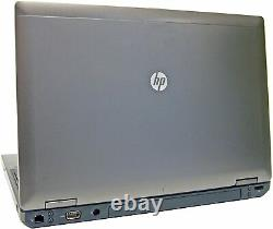 HP ProBook 6565b Laptop Computer 15.6 AMD 4GB RAM 320GB HDD WiFi Windows 10