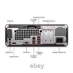 HP ProDesk (8GB RAM, 250GB SSD, Windows 10 Pro) Desktop Computers PC