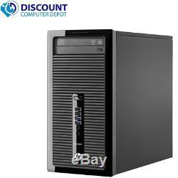 HP ProDesk G1 Computer Tower PC Core i5 (4th Gen) 8GB RAM 1TB HD Windows 10 Pro