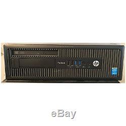 HP SFF i7-4770 COMPUTER PC 256GB SSD +2TB HDD 16GB RAM WIN 10 Tower Desktop WiFi