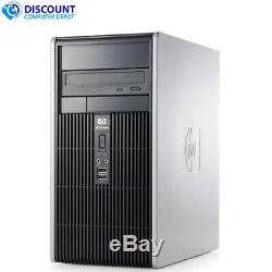 HP Tower Windows 10 Home Desktop Computer PC Dual Core 2.2GHz 4GB RAM 250GB HD