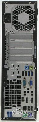HP Windows 10 Core i7 3.4GHz Desktop PC Computer 32Gb RAM 480Gb SSD 2Tb SATA HDD
