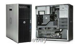 HP Z620 Workstation PC 12 Core Intel Xeon 64GB RAM 1TB HDD Win10, Nvidia gpu