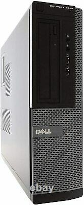Hp or Dell Desktop PC Computer Dual Core 16GB RAM DUAL 19 LCDs WiFi Windows 10